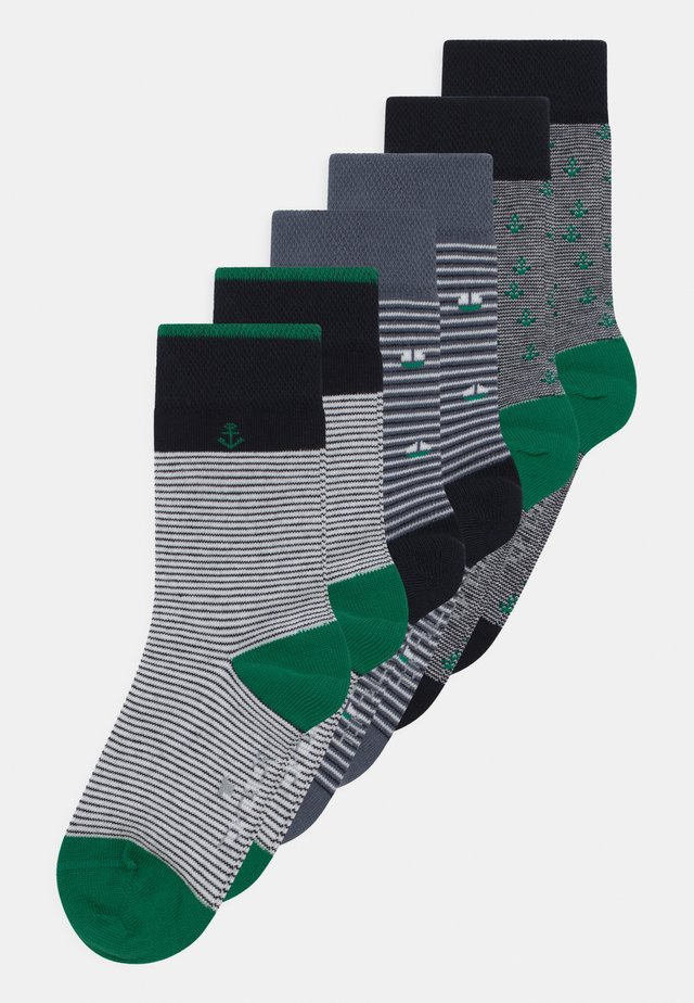 MINI ME MARINE 6 PACK UNISEX - Socks - ultra green