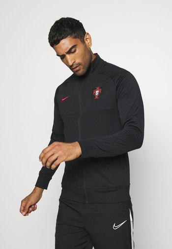 PORTUGAL FPF - Article de supporter - black/sport red