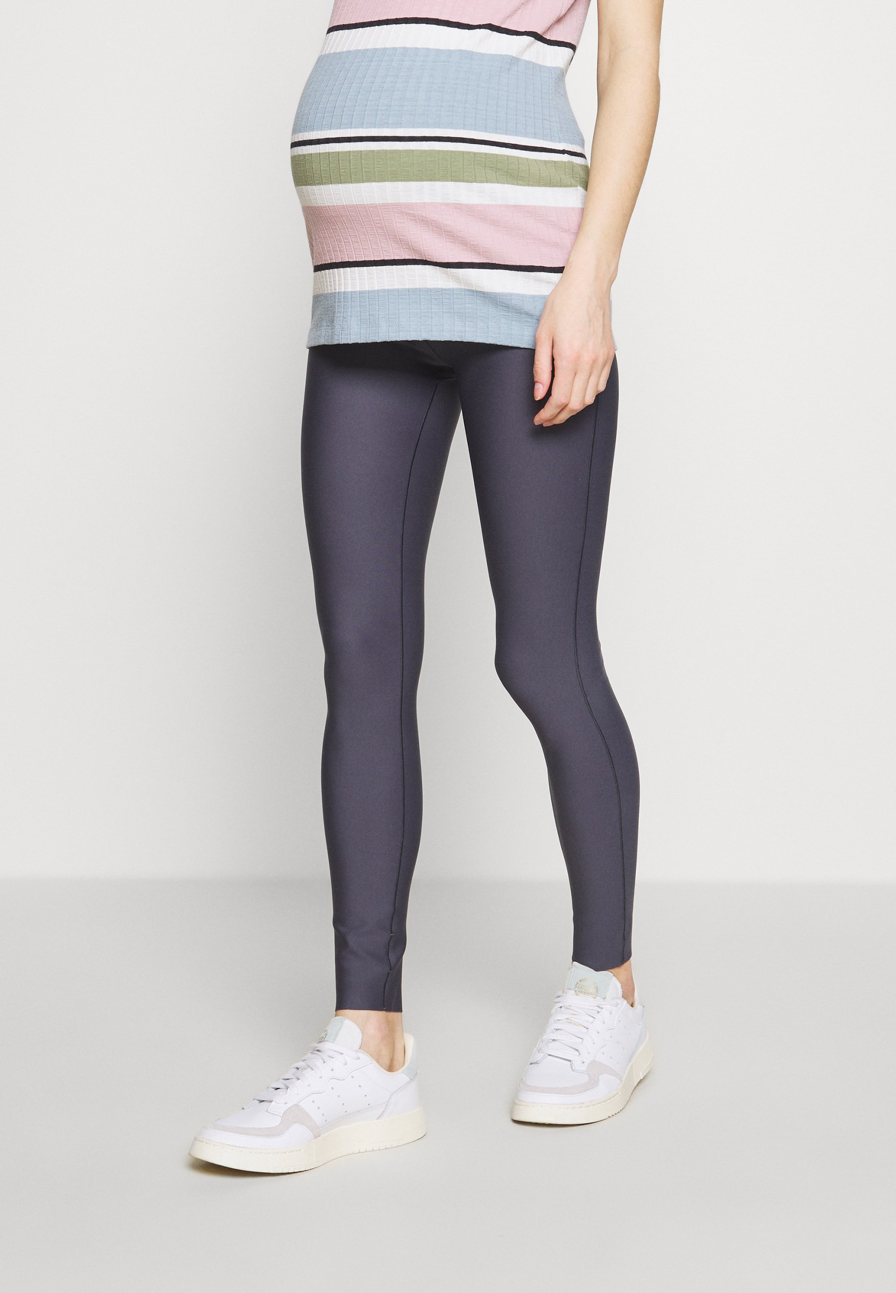 High-Quality Cheap Women's Clothing GLOWE The Glowe Maternity SUPPORT LEGGING Leggings Trousers solid grey U0P4ckeRg