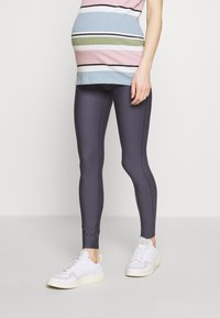 GLOWE - The Glowe Maternity SUPPORT LEGGING - Leggings - Trousers - solid grey - 0