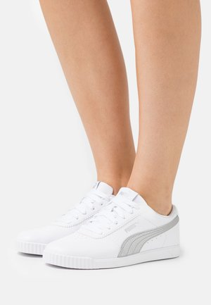 CARINA SLIM FIT - Sneaker low - white/silver
