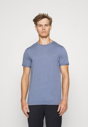 NØRREGAARD - T-shirt basic - china blue melange
