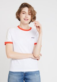 Fila - NOREEN TEE - Print T-shirt - bright white - 0