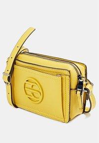 Esprit - FRAN SMALL - Across body bag - brass yellow - 2