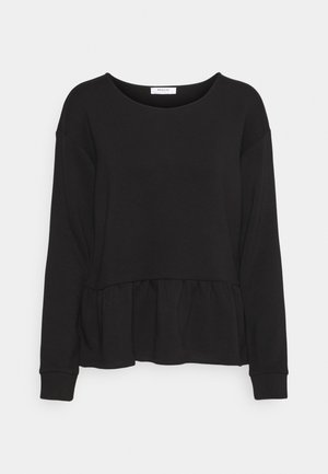 MIELLA NACIE TOP - Long sleeved top - black