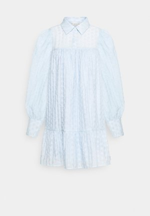 MULKA TUNIC - Shirt dress - blue