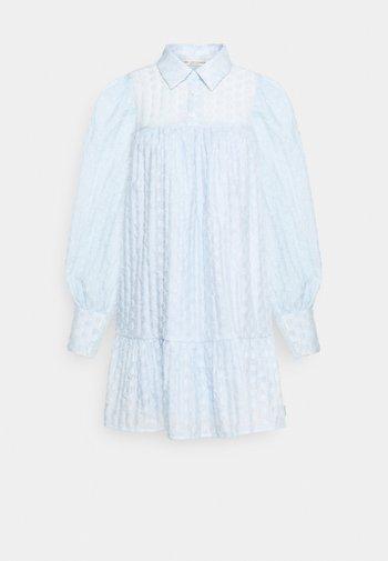 MULKA TUNIC - Vestido camisero - blue