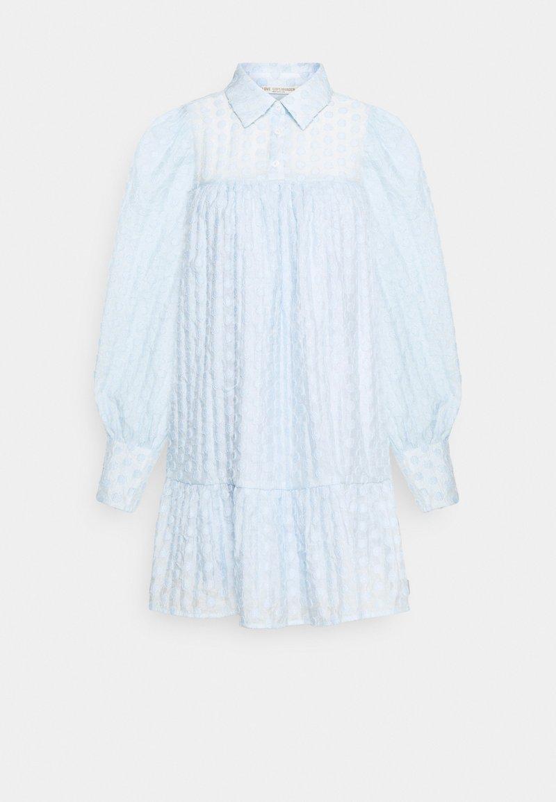 Love Copenhagen - MULKA TUNIC - Shirt dress - blue