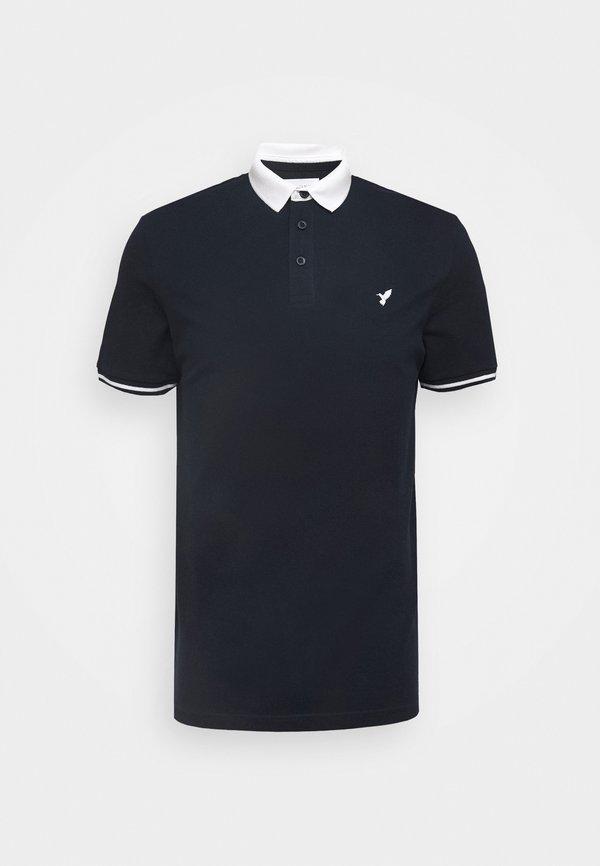 Pier One Koszulka polo - dark blue/granatowy Odzież Męska ARPI