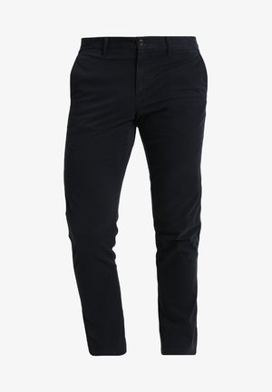CORE STRAIGHT FLEX - Pantalones chinos - blue