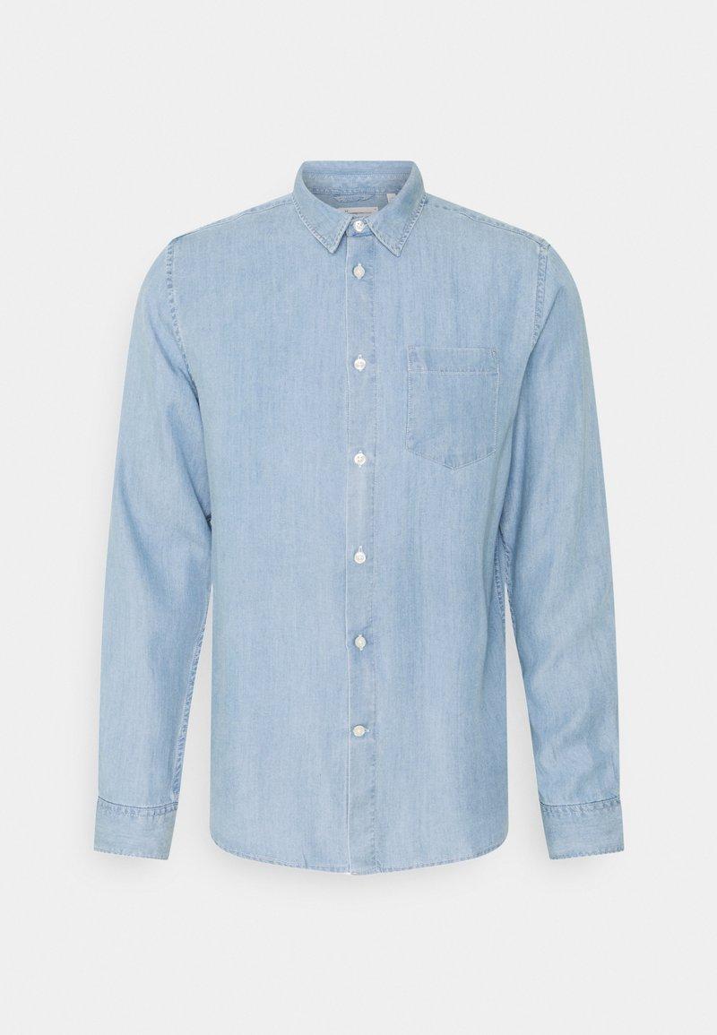 KnowledgeCotton Apparel - ELDER  - Skjorta - vintage indigo