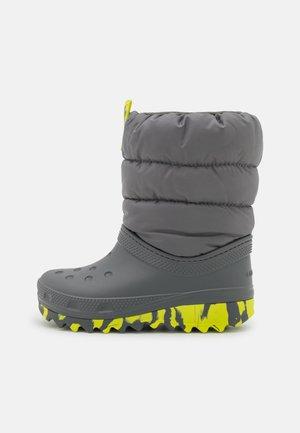 CLASSIC NEO PUFF UNISEX - Winter boots - slate grey