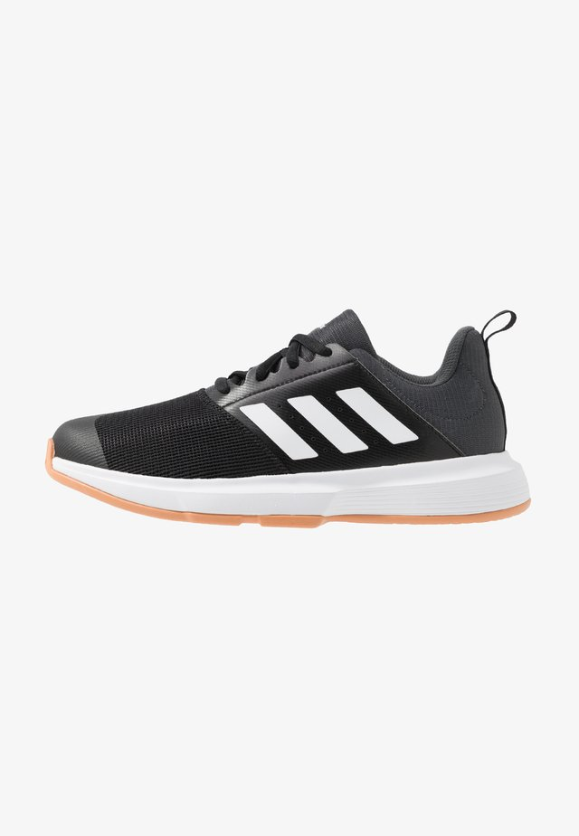 ESSENCE - Handball shoes - core black/footwear white/grey six