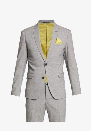 CHECKED SUIT - Suit - blue