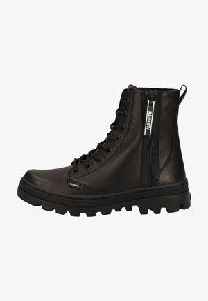 Bottines à lacets - black/black 466