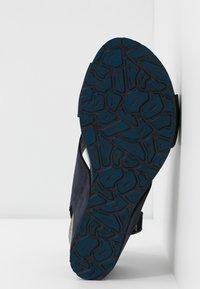 Panama Jack - VALESKA BASICS - Sandály na platformě - dunkelblau - 6