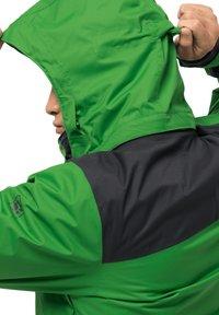 Jack Wolfskin - JASPER FLEX  - Hardshell jacket - basil green - 6