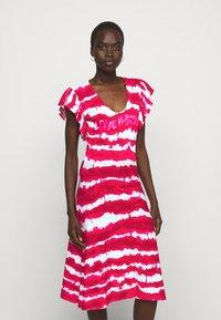 Love Moschino - Jersey dress - fuchsia - 0