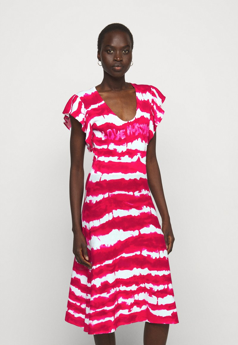 Love Moschino - Jersey dress - fuchsia