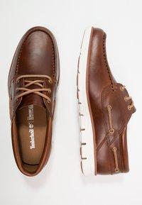 Timberland - BRADSTREET 3 EYE - Chaussures bateau - sahara brando - 1