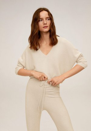 MILANO - Pullover - licht/pastelgrijs