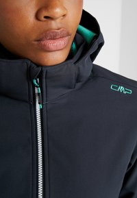 CMP - WOMAN JACKET ZIP HOOD - Soft shell jacket - antracite - 8