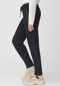 Marc O'Polo - LONTTA - Tracksuit bottoms - blue - 4