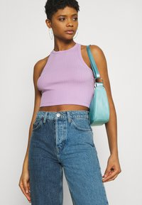 Even&Odd - 2 PACK - Top - black/lilac - 5