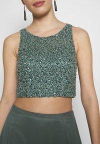 Mascara - SET - Maxi skirt - smokey green - 4