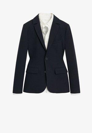 blazer - bleu marine foncé