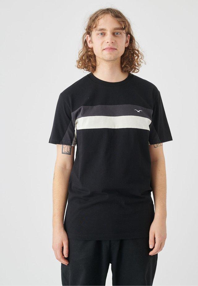 FASTER - Print T-shirt - black