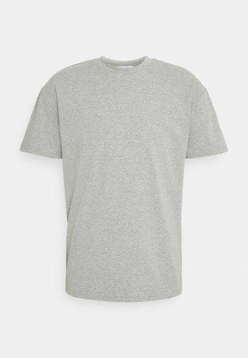 CREW NECK - Basic T-shirt - grey marl