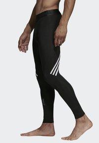 adidas Performance - Alphaskin Sport+ Long 3-Stripes Tights - Leggings - black - 2