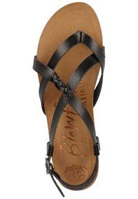 Blowfish Malibu - T-bar sandals - black - 1