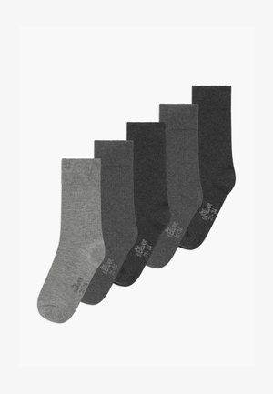 ONLINE JUNIOR ORIGINAL UNISEX 5 PACK - Socks - fog mix