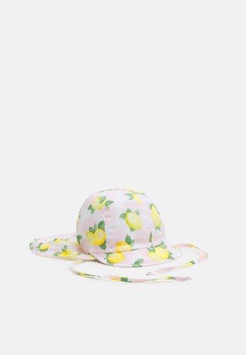 MINI GIRL - Beanie - blütenrosa/hellgelb