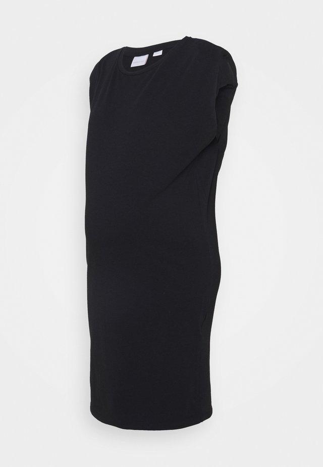 MLSKYDIA DRESS - Žerzejové šaty - black