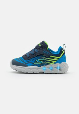MAGNA LIGHTS - Trainers - navy/blue/lime