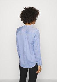 Opus - FALENTA DOBBY - Button-down blouse - blue mood - 2