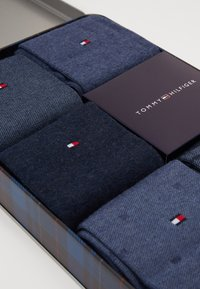 Tommy Hilfiger - SOCK FINE STRIPE GIFTBOX 5 PACK - Skarpety - jeans - 2