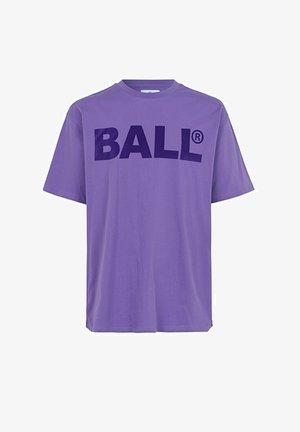 CPH FLOCK  - T-shirts med print - purple