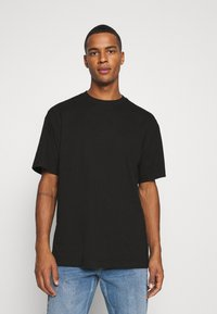 Weekday - OVERSIZED - T-shirt basic - black - 0