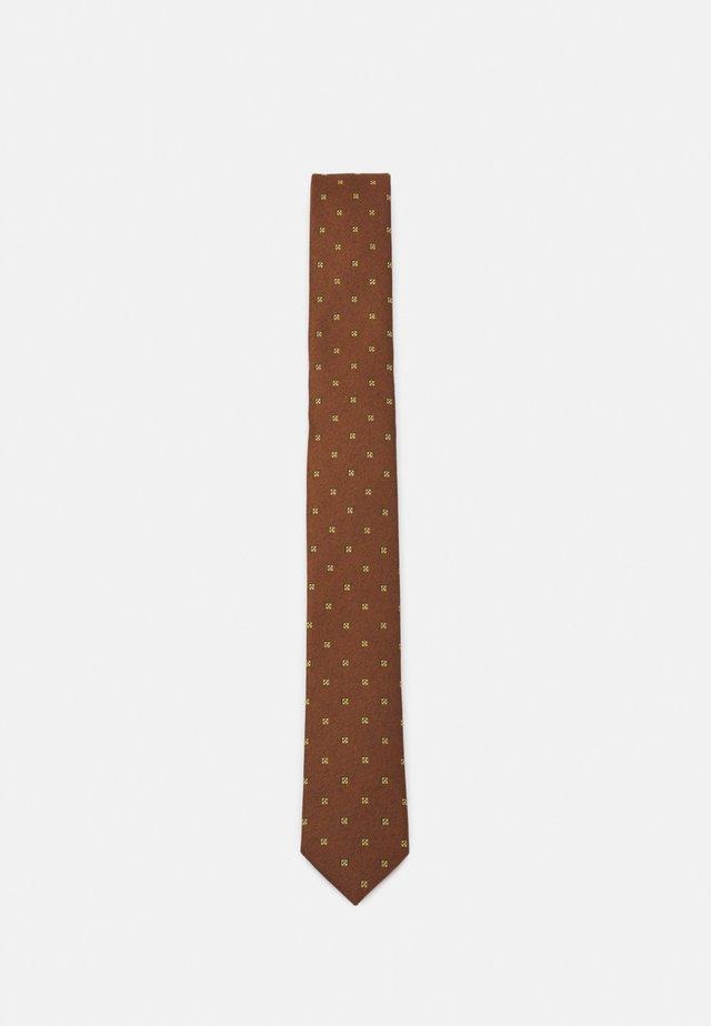 SLHLANDON TIE - Krawatte - rust
