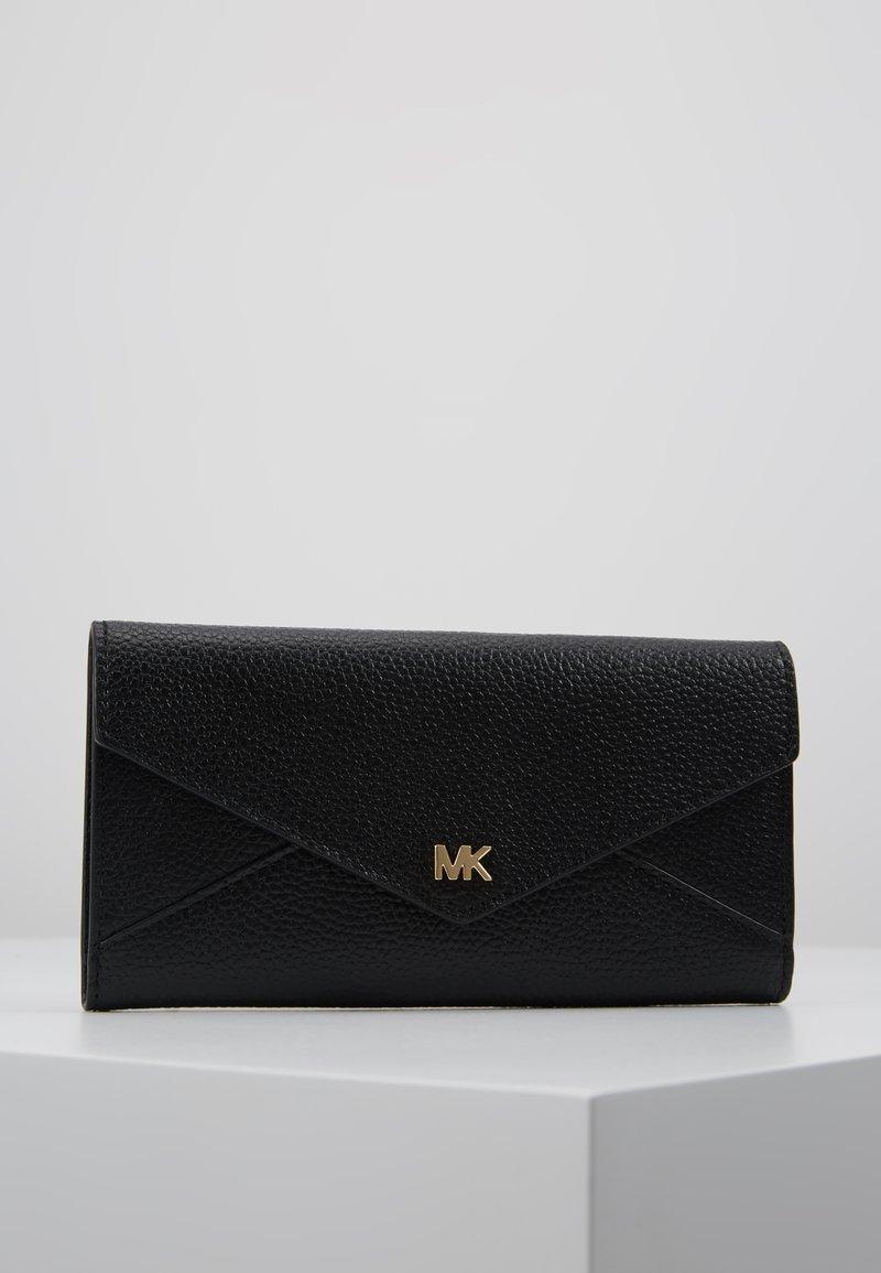 MICHAEL Michael Kors - MOTT SLIM TRIFOLD MERCER PEBBLE - Peněženka - black