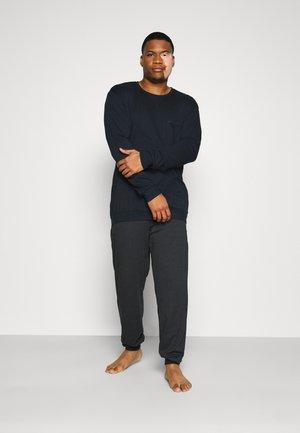 SCHLAFANZUG LANG SET - Pyjama - dunkelblau