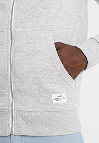 Solid - MORGAN ZIP - veste en sweat zippée - light grey - 5