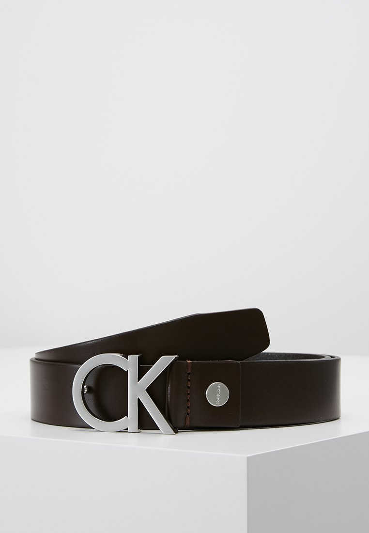 Calvin Klein - BUCKLE BELT - Pásek - brown