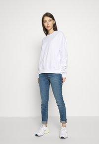 Even&Odd - BASIC - Crew Neck - Sweatshirt - white - 1