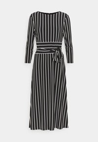 PRINTED MATTE DRESS - Jersey dress - black