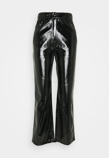 PATENT ZIP PANTS